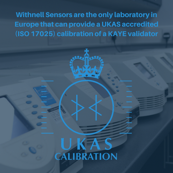 Kaye Validator 2000 calibration