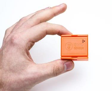 SenseAnywhere AiroSensor wireless temperature data monitoring