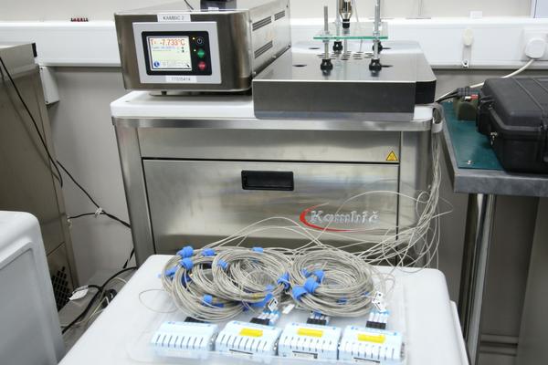 UKAS data logger calibration