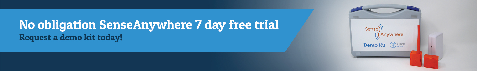 7 day free trial of SenseAnywhere AiroSensor