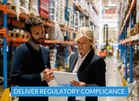 warehouse mapping regularitory compliance