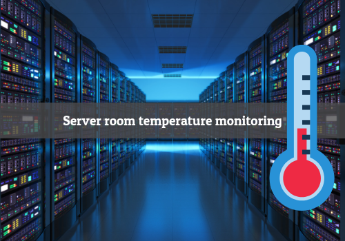 Server room temperature monitoring