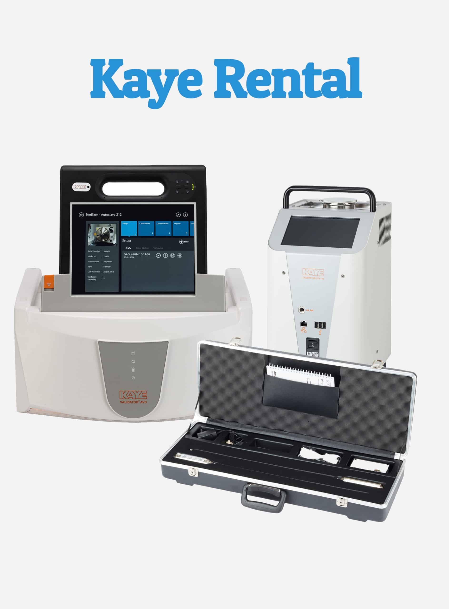 Kaye AVS Thermal Validation System