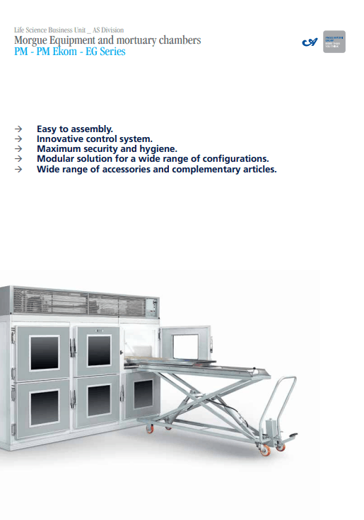 Mortuary brochure