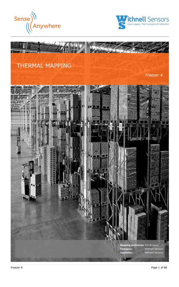 Temperature Mapping Cover