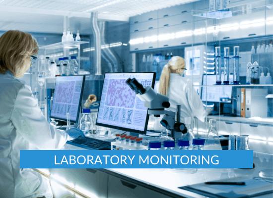 Laboratory Temperature monitoring